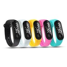 Fashion Sport LED Digital Smart Watch Men Women Kids Touch Screen Silicone Strap Band Wristwatch Bracelet Smartwatch