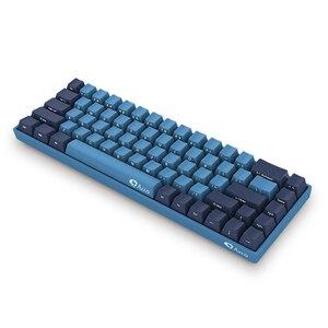Image 3 - AKKO 3068 SP Ocean Star 68 Tasten Gamingl Tastatur Wired USB Typ C Kirsche Schalter 85% PBT Tastenkappen Computer gamer Programmierbare