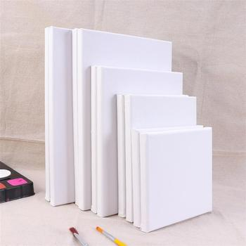 10PCS Wood Painting Frame Cotton White Stretched Canvas Frame For Drawing Painting DIY Canvas Painting Supplies