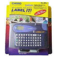 Original KL-60-L Label printer KL-60L Compatible for Casio 6/9/12mm label tapes KL-60 XR-9X XR-12X XR-6X XR-6WE XR-9WE XR-12WE