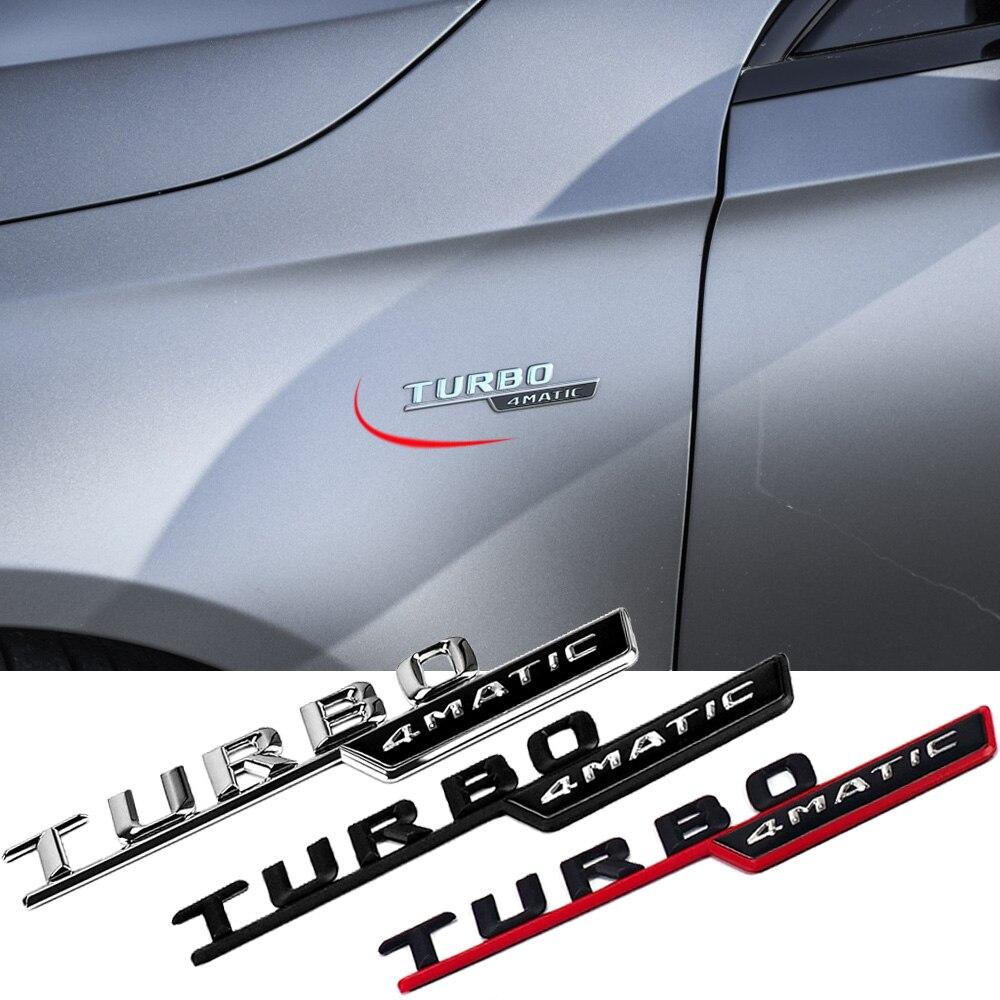 2 adet TURBO 4MATIC yan çamurluk Sticker Mercedes Benz AMG A B C E r E r E r E r E r E r E r E r E r E r G sınıfı CLA CLK GLA GLB GLC GLE GLK GLS GT araba Styling