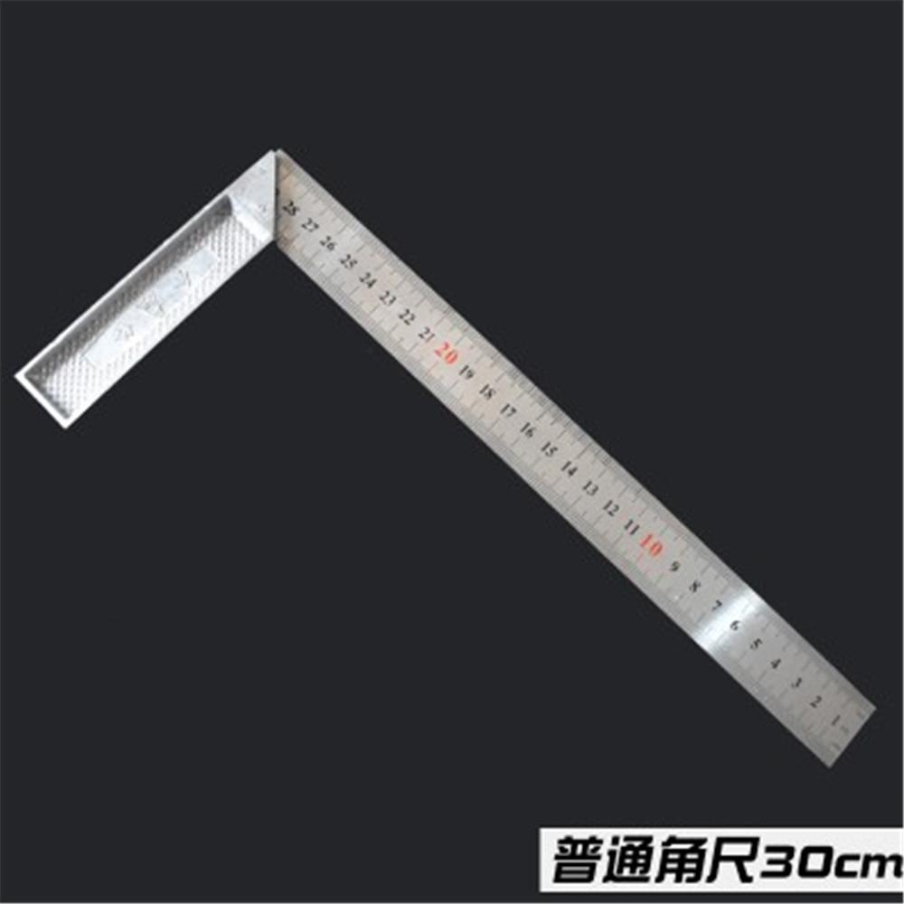Stainless Steel Metal Measuring Ruler Double Sided 30//50//60cm Metric Nett