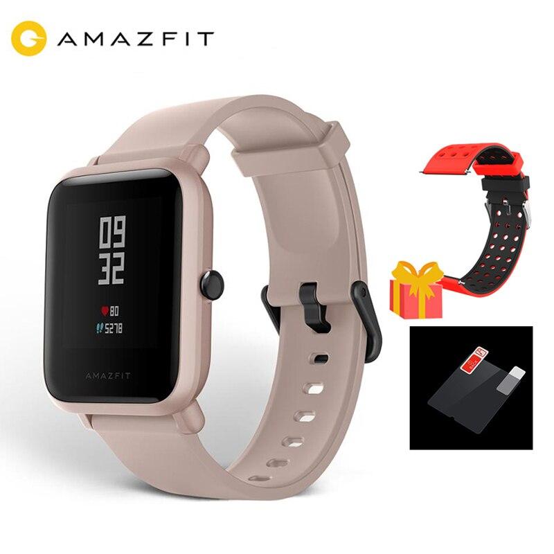 Nouveau 2019 XIAOMI Amazfit Bip Lite montre intelligente hommes Version mondiale 45 jours vie de la batterie 3ATM résistance à l'eau Bluetooth Smartwatch