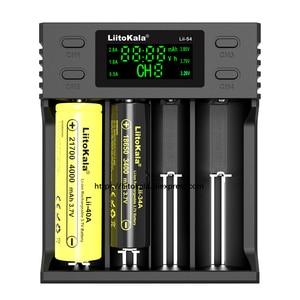 Image 4 - 2020 Liitokala Lii 500 Lii PD4 Lii 500S Lii PL4 Lii S4 Sbattery Caricabatteria 18650 21700 26650 AA 18350 18500 17500 25500 batteria