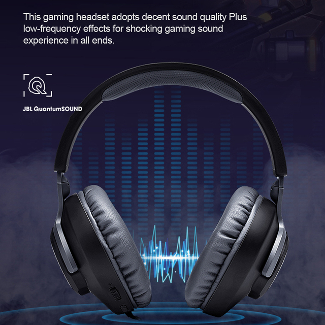 JBL QUANTUM100 Gaming Headset 7.1 with Mic 4