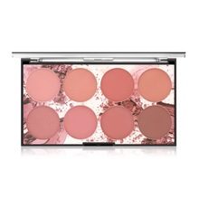 8 Colors Blush Palette Shimmer Matte Powder Blush Baked Cheek Face Blusher Makeup Cosmetics mac sheertone shimmer blush
