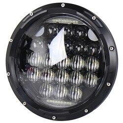 Faro de rendimiento de motocicleta vectra fly eye, luces led de 84 w para faros delanteros led jeep wrangler de 7 pulgadas