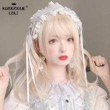 цена на Cosplay Lolita Wave Wig 47cm Long Curly Golden Hair Ombre Fringe Bob Bangs Kawaii Cute Party Synthetic Japanese Princess Wig