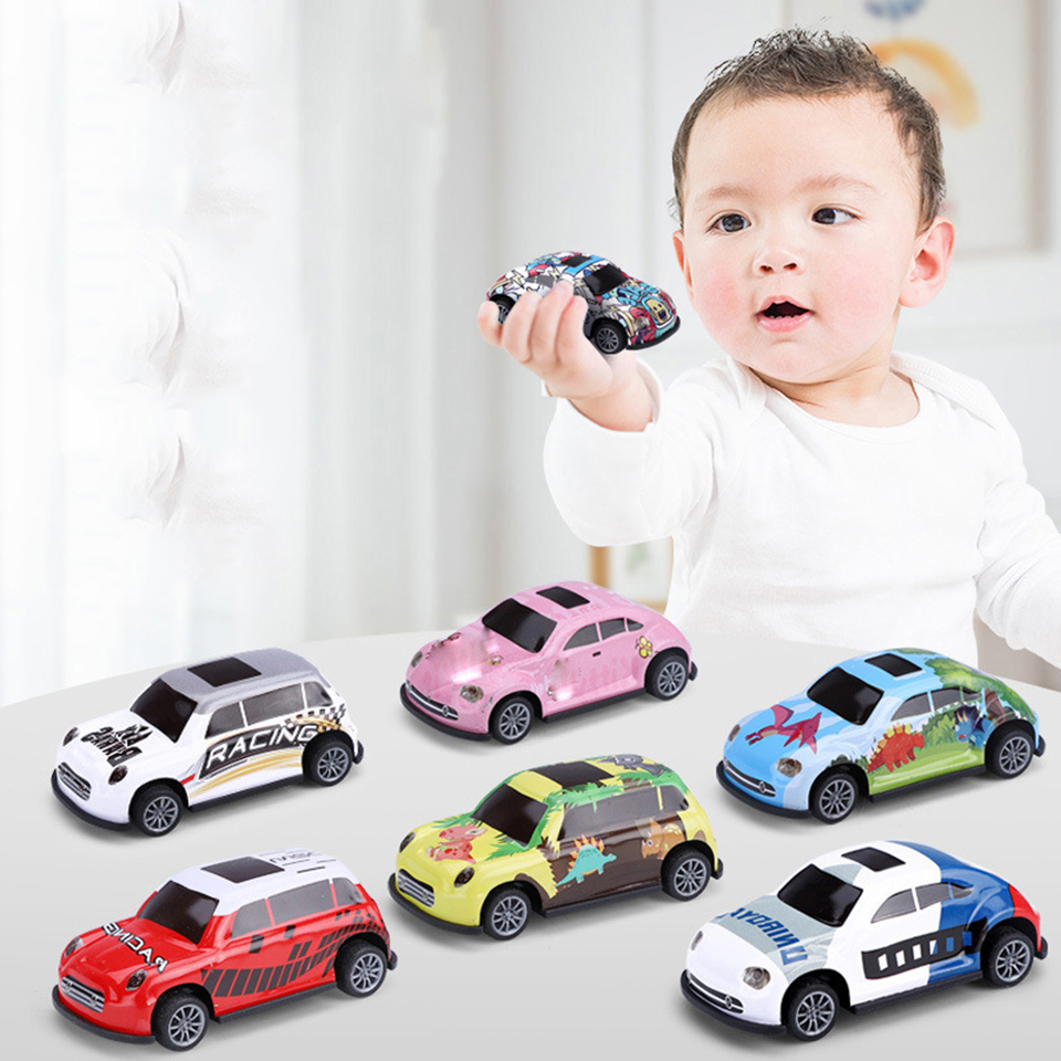 Mini Pull Back Car Model Toy Simulation Alloy Model Toy Car Metal Alloy Children's Toy Car Birthday Gifts For Boys