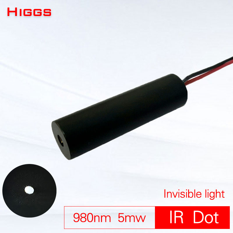 Absolutely Invisible 980nm 5mw Infrared Dot Laser Module Low Power IR Launcher Projection Touch Pointer Night Hunting Sight