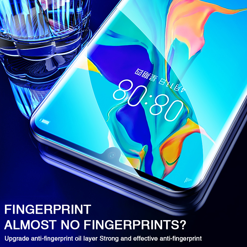 Image 4 - 45D Screen Protector Hydrogel Film For Huawei P30 P20 Pro Honor 10 Protective Film For Huawei Mate 20 lite 10 30 Pro 5G Not Glas-in Phone Screen Protectors from Cellphones & Telecommunications