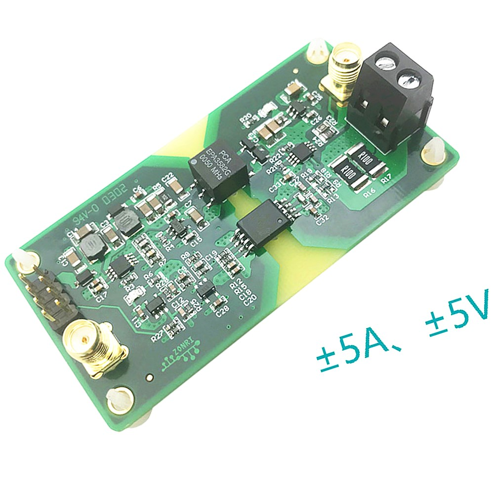 AMC1301 ±5V ±5A/200KHz High Precision Analog Voltage / Current Signal Isolation Module Bandwidth ISO