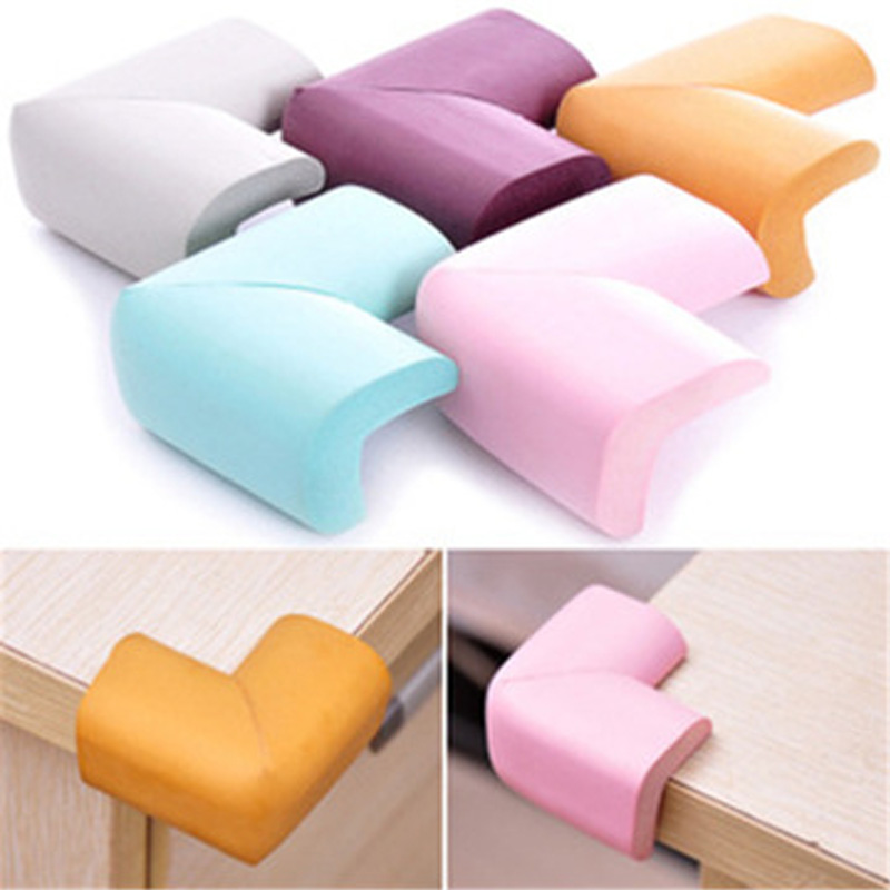 10 Pieces Baby And Children Safety Edge Protection Protection Enfant Table Corner Protector Soft Mini Thick Design Child Safety