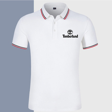 Summer hot men's polo shirt fashion high quality Lapel polo shirt new business leisure comfortable breathable short sleeve shirt