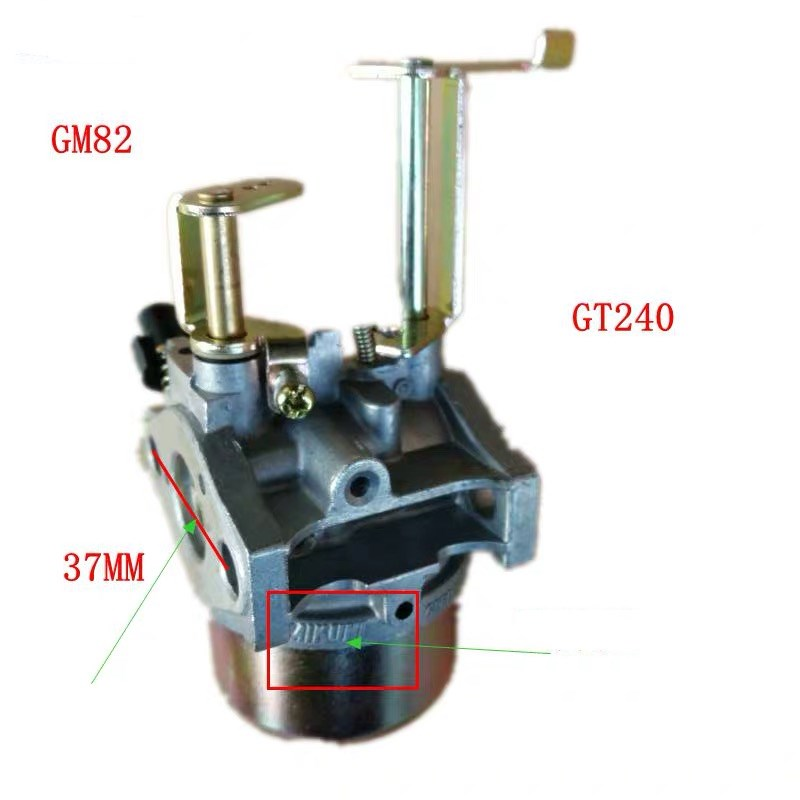 GM82 Carburetor FOR MITSUBISHI GT240 2.4HP GASOLINE ENGINE PARTS