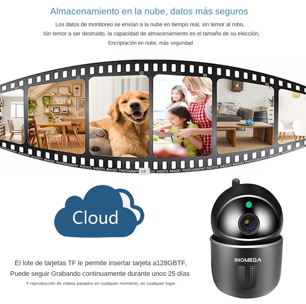 High Resolution Baby Monitor With Auto Tracking Mini Camera For Your Child Safety 15