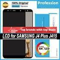 100% Оригинальный 6,0 ''дисплей для Samsung Galaxy J4 + 2018 J4 Plus J415 J415F J410 ЖК сенсорный экран Запасные части + Сервисный пакет
