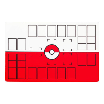 Pokemon Cards Deluxe 2 Player Compatible Pokemon Stadium Mat Board Trading Cards Game Playmat 71*45cm Children Christmas Gift 1