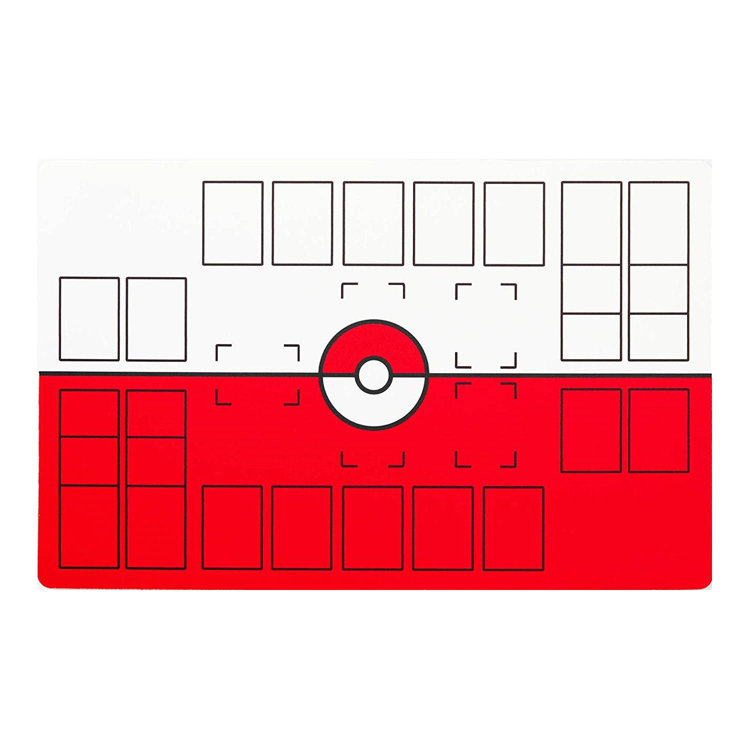 Deluxe 2 Player Compatible Pokemon Stadium Mat Board Trading Cards Game Playmat 71*45cm Children Christmas Gift