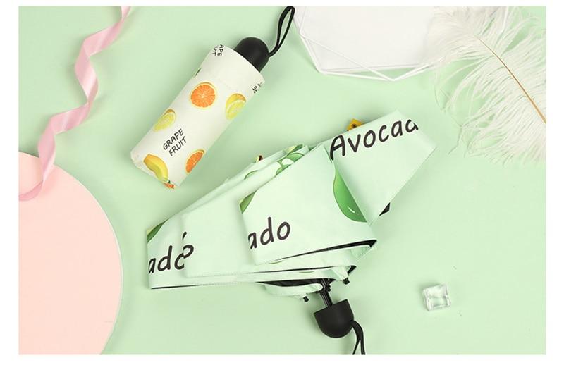 Mini Parapluie de poche anti UV et coupe vent