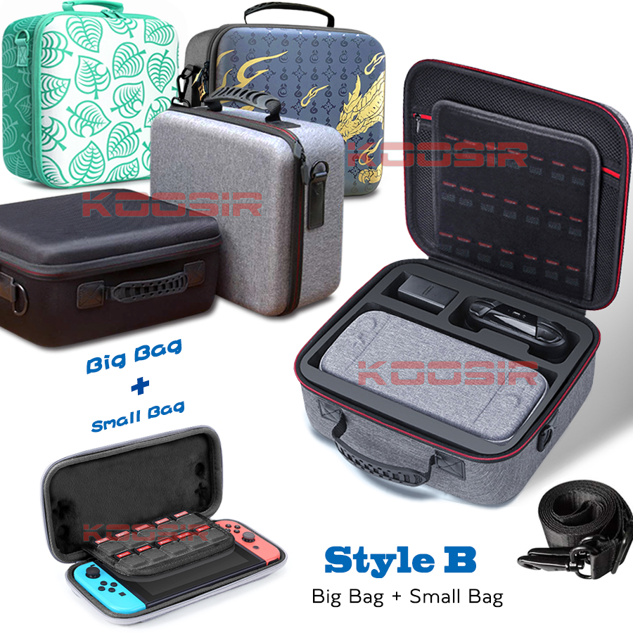 2021 Nintend Switch NS Accessories Console Deluxe Carrying Storage Case Nitendo Portable Cover Suitcase for Nintendo Switch Bag