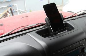 Image 5 - حامل هاتف جيب رانجلر JK JKU 2012 2017 ، حامل GPS ، صندوق تخزين ، صينية منظم ، ملحقات سيارة ABS سوداء