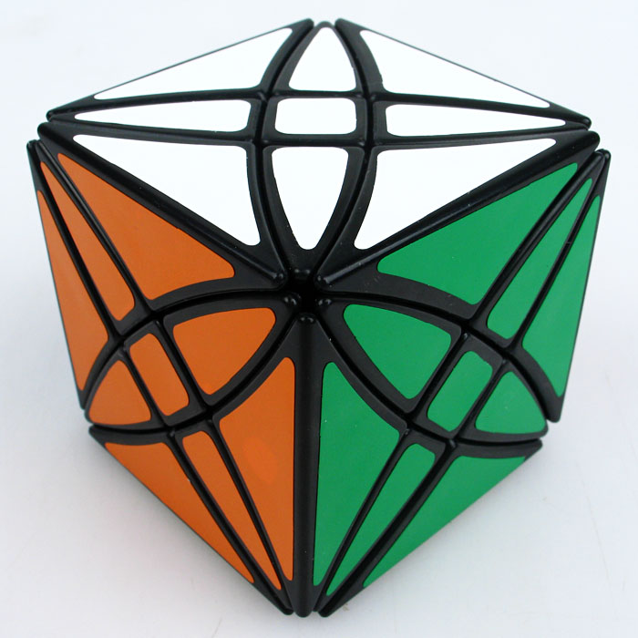 Lanlan Flower Rex Magic Cube Speed Puzzle Cube 8 Axis Hexahedron Magic Cube Toys For Kid Children Gift Idea For X'mas Birthday