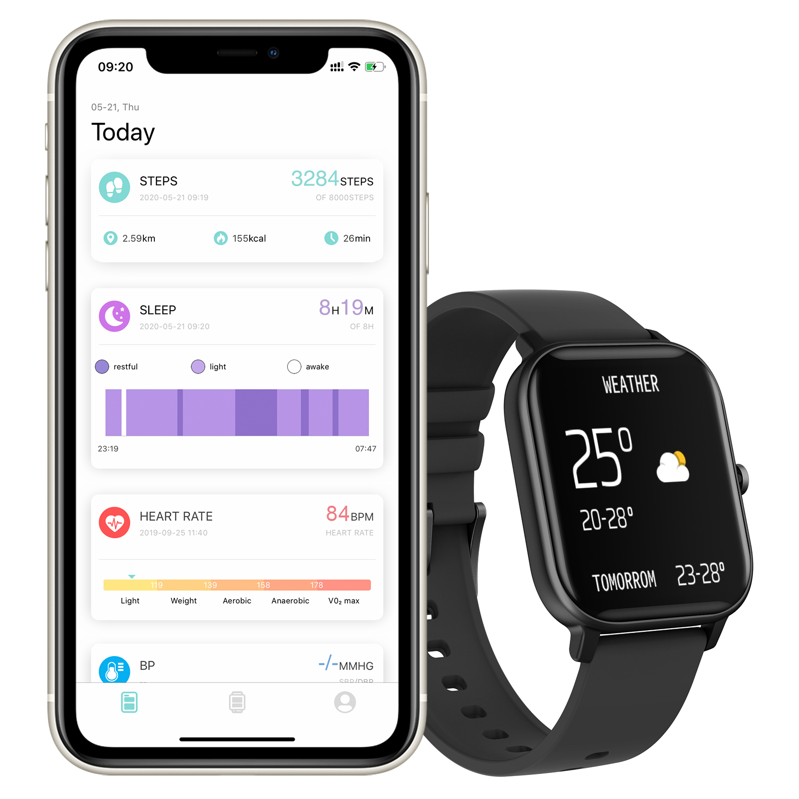 COLMI P8 Pro Smart Watch with Heart Rate Monitor 10