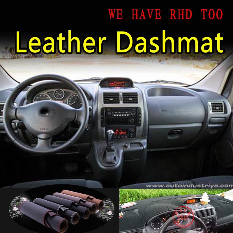 For Citroen Jumpy Dispatch Peugeot Expert Fiat Scudo Toyota Proace G2 Leather Dashmat Dashboard Cover Mat Carpet Car Styling