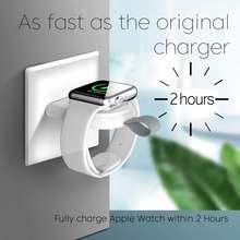 Портативное беспроводное зарядное устройство для apple watch