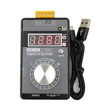 Analogico 0 5V 0 10V 4 20mA Generatore di Segnale con Batteria Ricaricabile Pocket Regolabile Tensione Corrente Simulator LB01G Calibratore