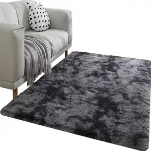 Carpet Tie Dyeing Plush Soft Carpets For Living Room Bedroom Anti-slip Floor Mats Bedroom Water Absorption Carpet Rugs