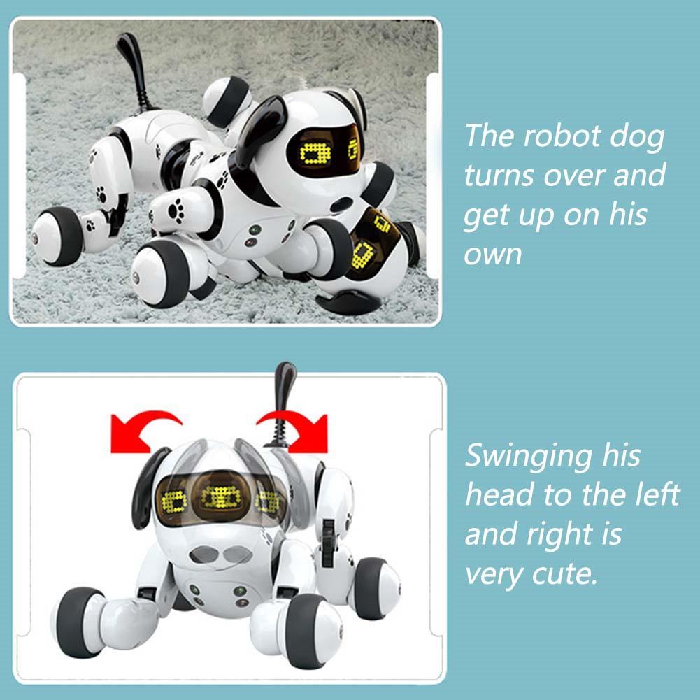 robô brinquedo do cão eletrônico do animal