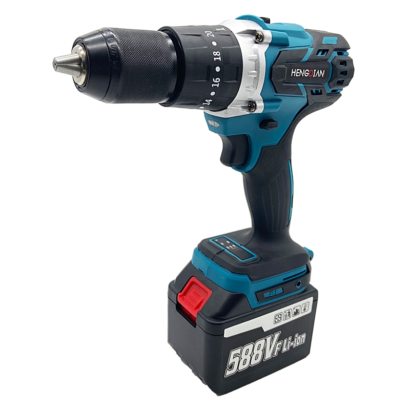 13mm 20 Torque Electric Hammer 18V Cordless Drill Impact Battery Drill Makita With Model Brushless 3
