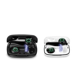 Bluetooth 5,0 наушники TWS отпечатков пальцев Сенсорный наушник, HD стерео беспроводные наушники, шумоподавление гарнитура с микрофоном водонепрон...