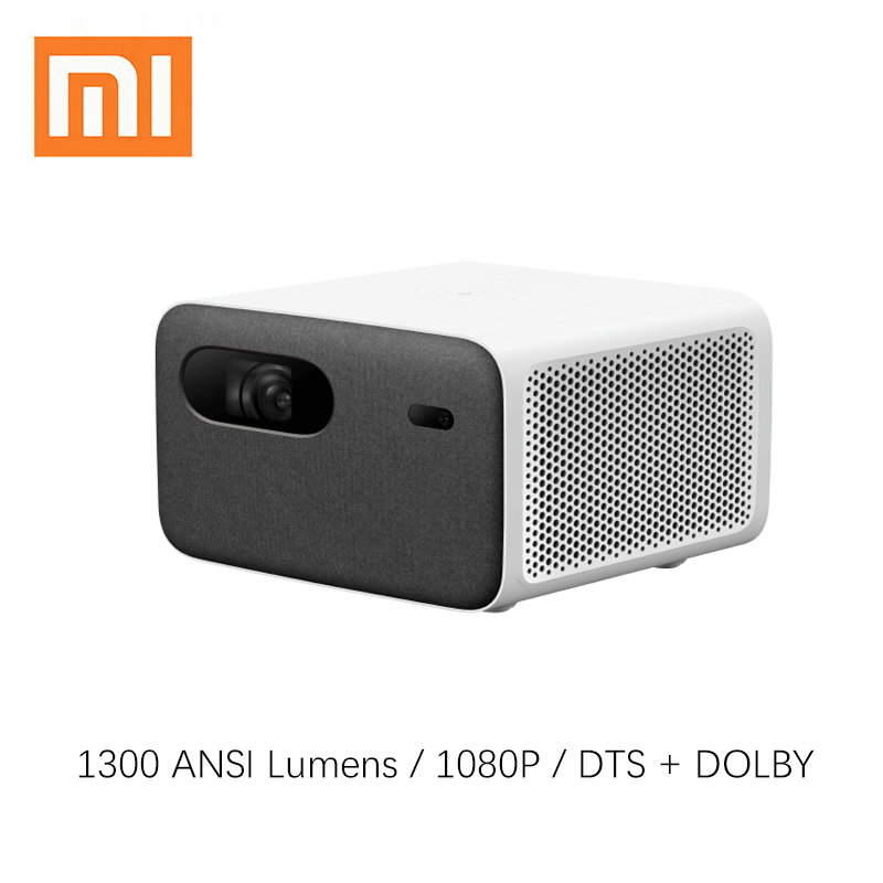 Xiaomi-proyector mijia 2 pro DLP, 1080P, 1300 ANSI, compatible con vídeo 4K, TV, cine en casa, Full HD, HDR10, Android, proyector wi-fi