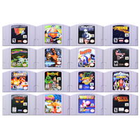 64 Bit Game Action-Adventure Games 2 Video Game Cartridge Console Card English Language US Version for Nintendo image
