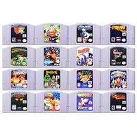 64 Bit gra akcji gry przygodowe 2 wideo kartridż z grą karta konsoli język angielski US wersja dla Nintendo