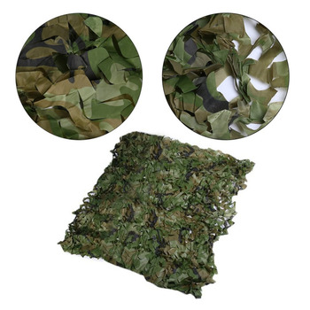 Camouflage Hiding Net Army Military Camo Net Car Covering Tent Hunting Blinds Netting Optional Size Long Cover Conceal army hunting camping military camouflage net outdoor tactical camo netting car covers tent blinds conceal drop