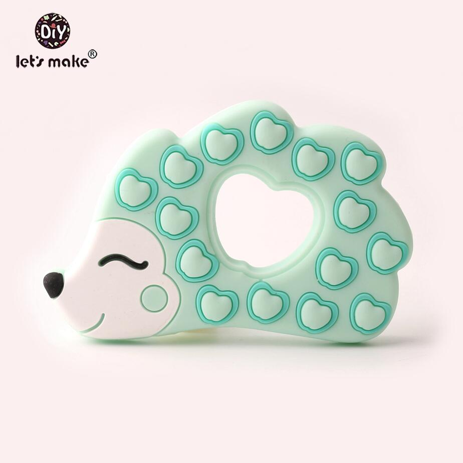 Teethers Baby Silicone Teething Toy Of Cartoon Rabbit Charms Necklace Making New Baby Product Food Grade Patent owner Let's Make