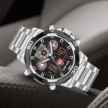 КЕЙДМАН военные спортивные часы мужчины водонепроницаемый двойной дисплей наручные часы лучший бренд класса люкс армия цифровой мужской часы Relogio мужской