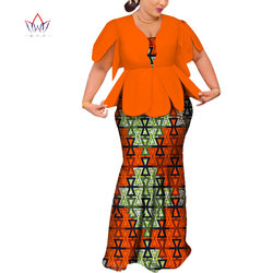 2019 Afrikaanse Jurken Voor Vrouwen Dashiki Afrikaanse Jurken Korte Mouw kleurrijke bruiloft Plus Size Afrikaanse Kleding BRW WY3797