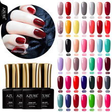 Azure Beauty 46 Colors UV Gel Nail Polish Semi Permanent Led Varnish Soak Off DIY Design Lacquer 7ML