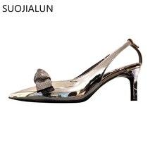 New Brand Women Sandal Bling Rhinestones Butterfly