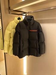 Mens down coat  top men's waterproof rubberized outdoor down jacket warm jacket