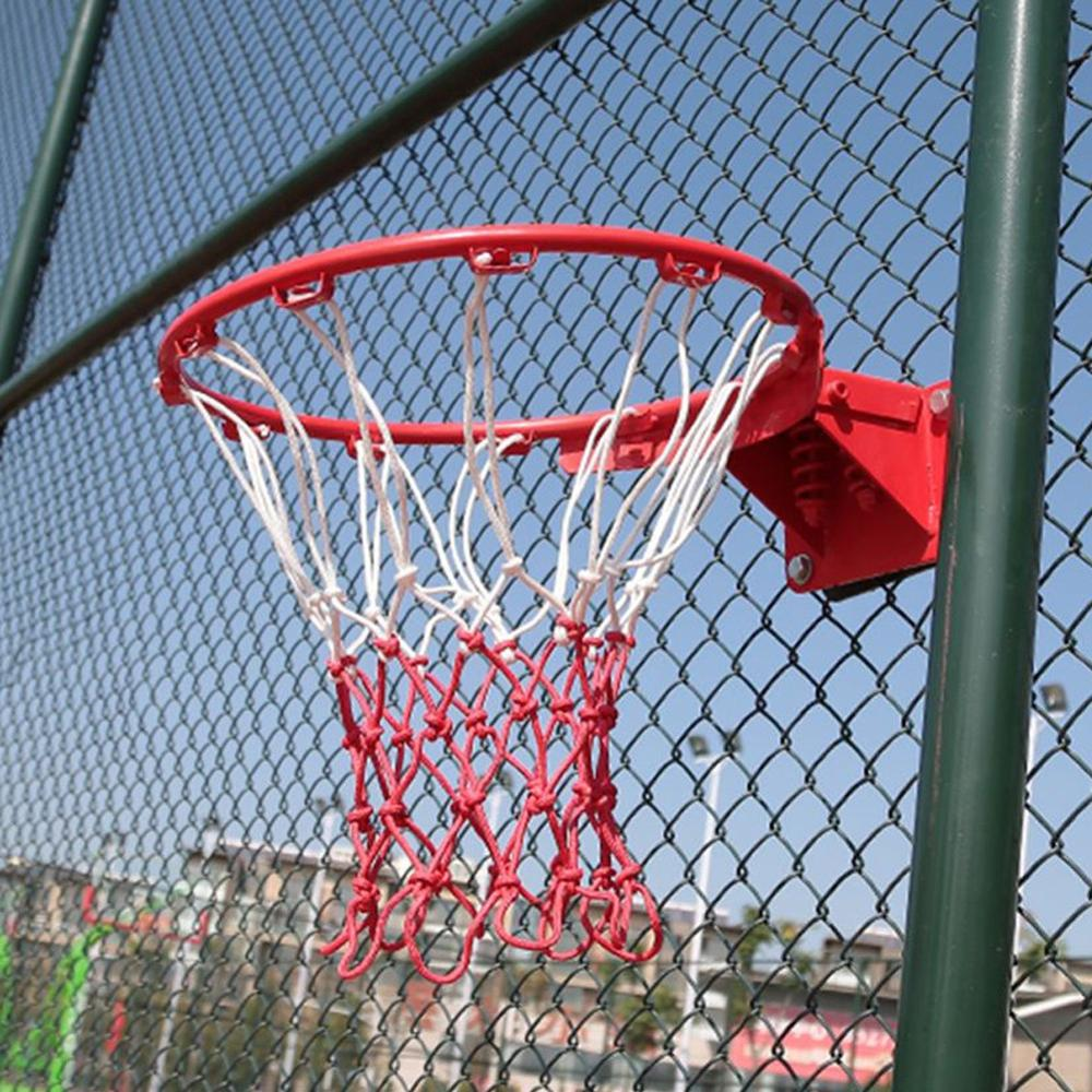 Professional High Quality Basketball Nets Standard Size Basketball Nets Are Suitable For Official Basketball Games