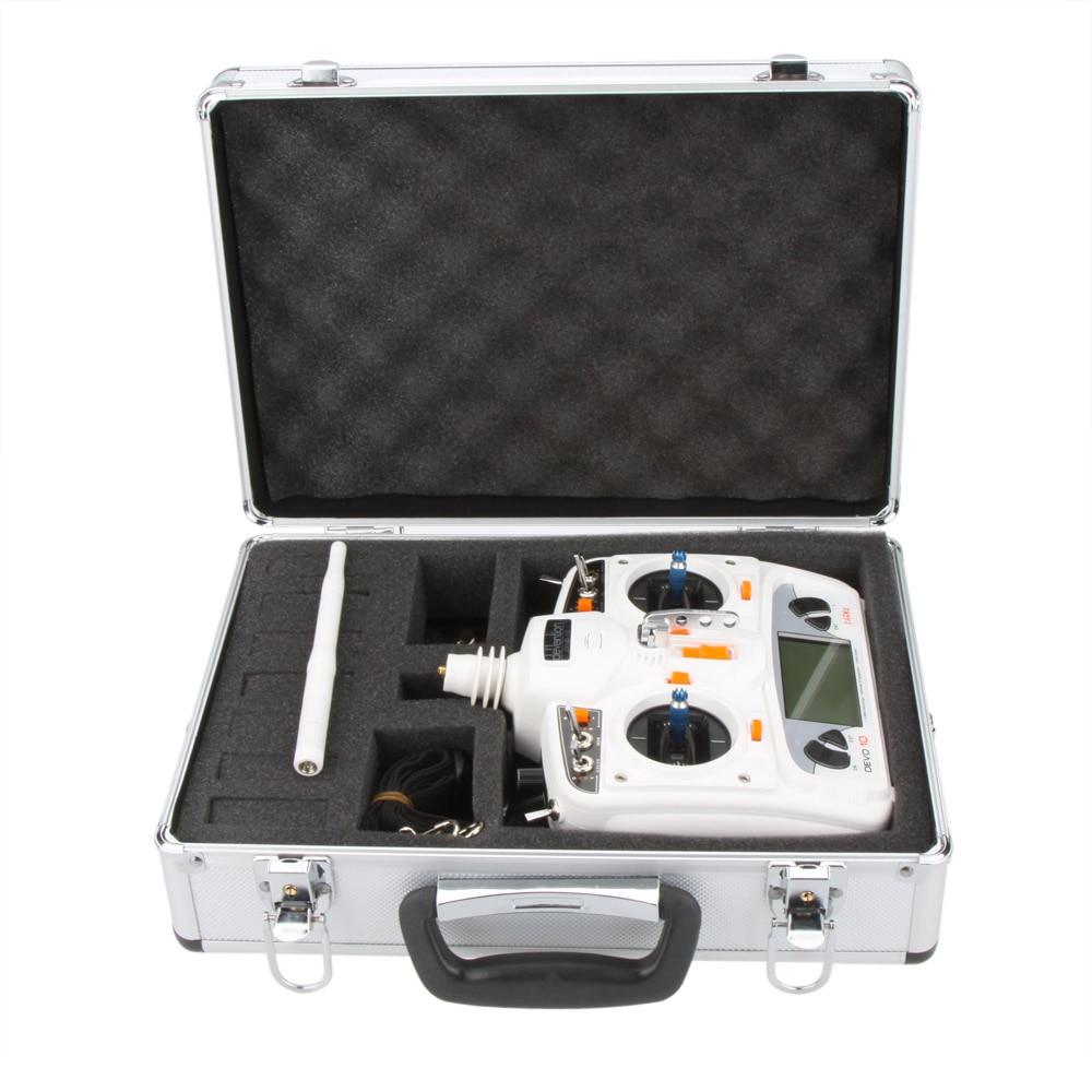 High Quality Universal Transmitter Aluminum bag for Futaba JR Spektrum Walkera Esky RC Transmitter
