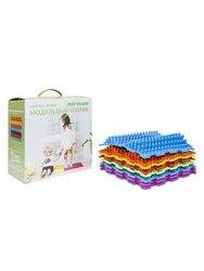 Massage modular mat-puzzle orthodon, set No. 3 Pros, 8 puzzles
