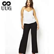 Plus Size 6XL Wide Leg Pants Large 5XL Women Trousers 2014 Big Female Suit Pant Full Figure Office Lady 4XL Clothes