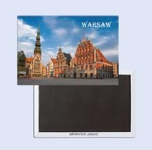 Warsaw, Poland  Travel Gifts  78*54mm  Souvenir Fridge Magnet 25263 Home accessories męskie granie 2018 warsaw